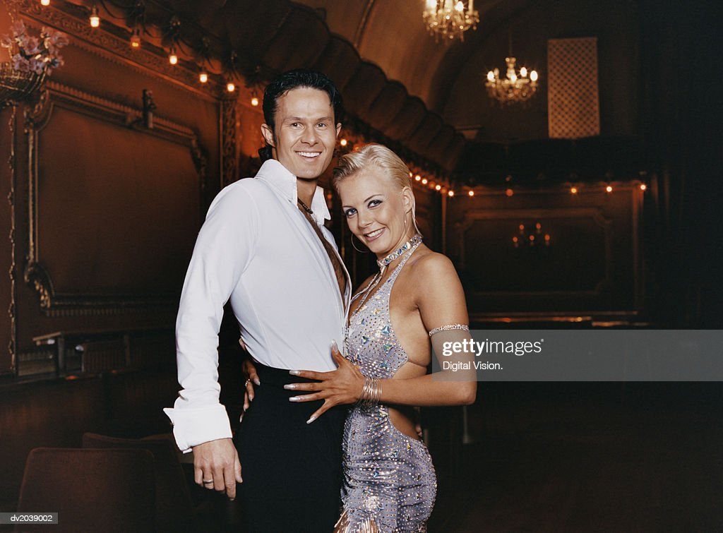 Portrait of Ballroom Dancers : Stock Photo