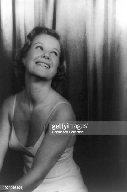 """Portrait of Barbara Bel Geddes in """"Cat On A Hot Tin Roof"""""""