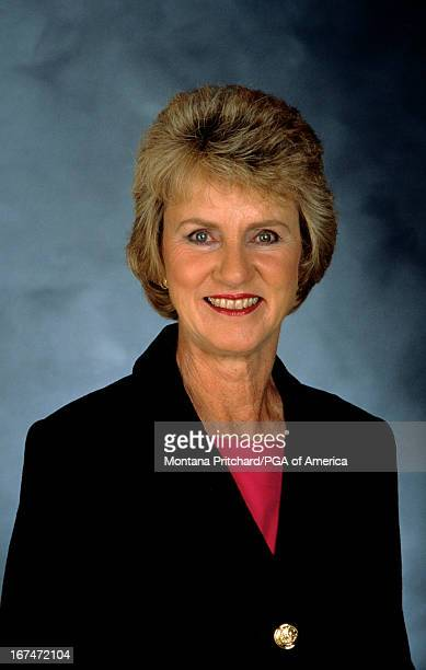 Portrait of Barbara Nicklaus First Lady of Golf recipient 1998