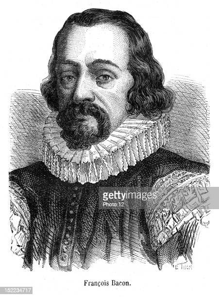 Portrait of baron of Verulam, viscount of St Albans, who was a statesman and english philosopher.