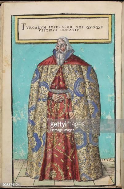 Portrait of Baron Sigmund von Herberstein Ambassador in Poland and Russia Found in the Collection of Biblioteca Szechenyi Budapest