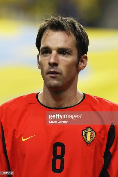 Portrait of Bart Goor of Belgium before the FIFA World Cup Finals 2002 Second Round match between Brazil and Belgium played at the Kobe Wing Stadium...