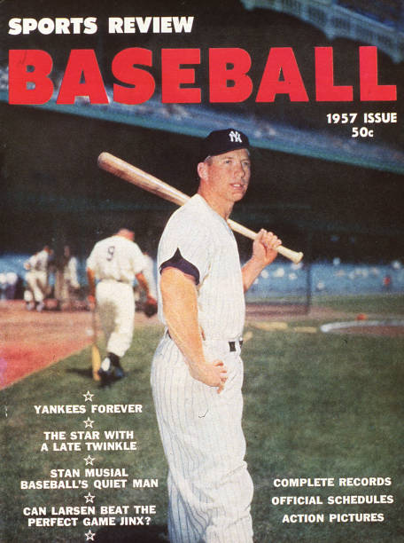 Mickey Mantle Sports 1957