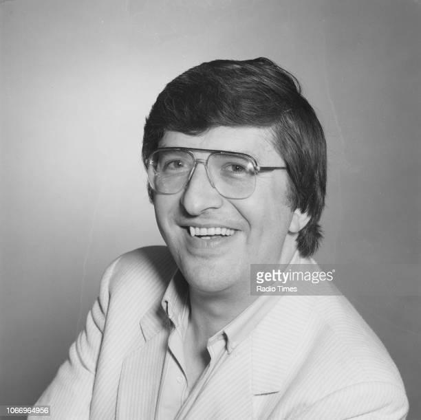 Portrait of BBC Radio 1 disc jockey Simon Bates May 25th 1985