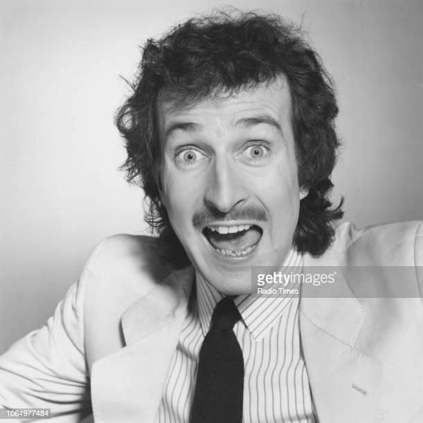 Portrait of BBC Radio 1 disc jockey Steve Wright May 25th 1985