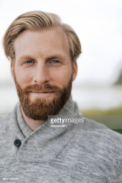 portrait of bearded man - facial hair stock pictures, royalty-free photos & images