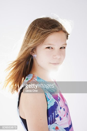 Portrait Of Beautiful 12 Year Old Girl Stock Photo  Getty -5940