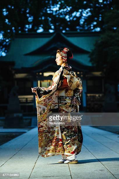 Portrait of beautiful japanese woman