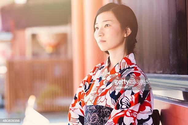 美しい日本女性のポートレート