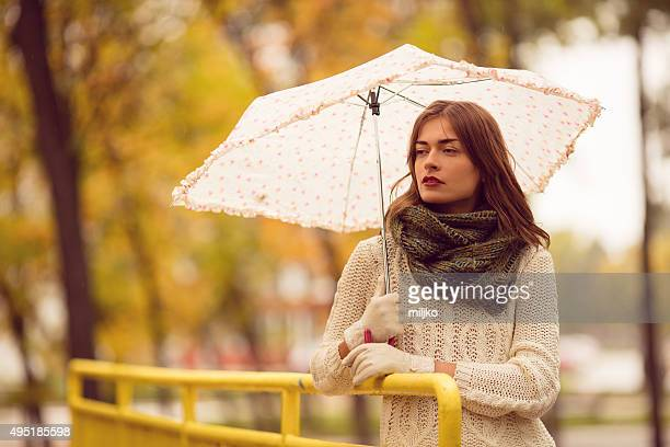 portrait of beautiful woman in autumn - formal glove stock pictures, royalty-free photos & images