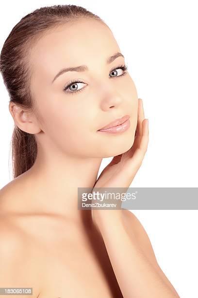 Porträt der schönen Frau