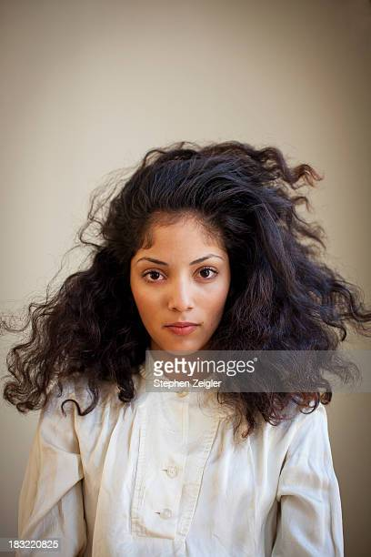 Portrait of beautiful young latina woman