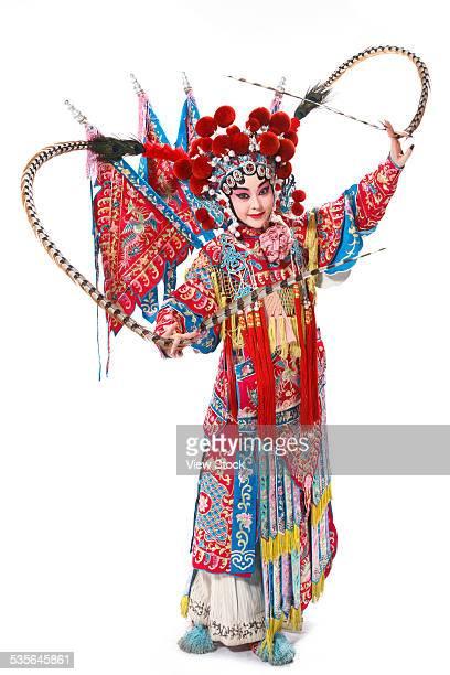 Portrait of Beijing opera actor actress