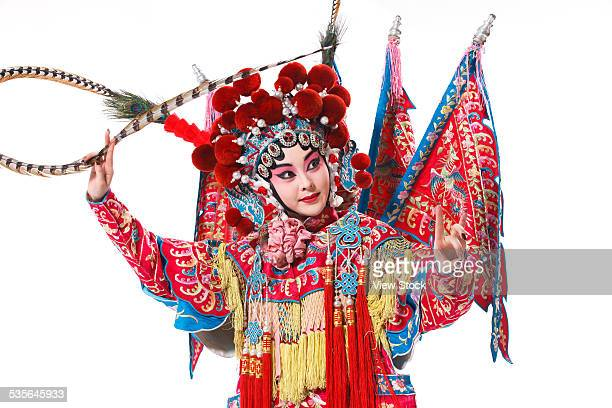 Portrait of Beijing opera actor actress