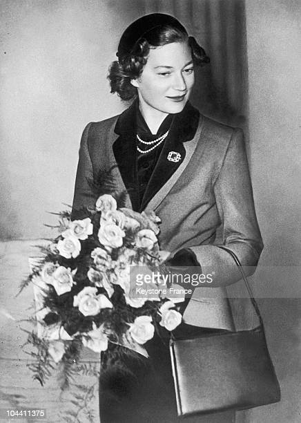 A 1952 portrait of Belgian Princess JOSEPHINECHARLOTTE at the age of 25 She will become the GrandDuchess of Luxembourg in 1953 through her marriage...