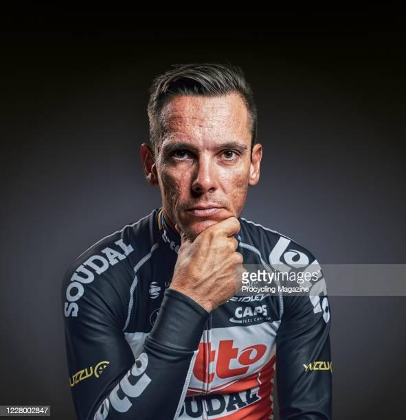 Portrait of Belgian professional cyclist Philippe Gilbert, taken on December 19, 2019.