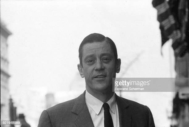 Portrait of Ben Bradlee Washington bureau chief for Newsweek in Washington DC 1964
