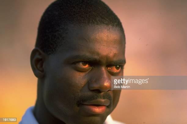 Portrait of Ben Johnson of Canada during the IAAF Zurich Grand Prix in Zurich Switzerland Mandatory Credit Bob Martin/Allsport