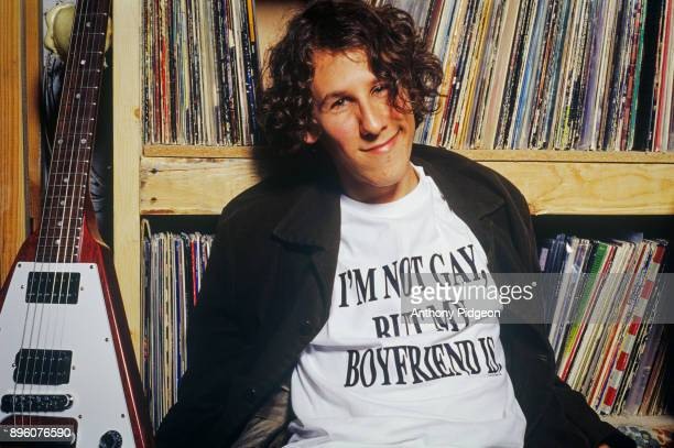Portrait of Ben Lee during a recording break at the studio of Dan 'The Automator' Nakamura San Francisco California USA 2002