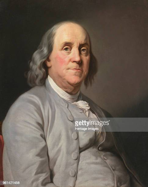 Portrait of Benjamin Franklin c 1780 Private Collection