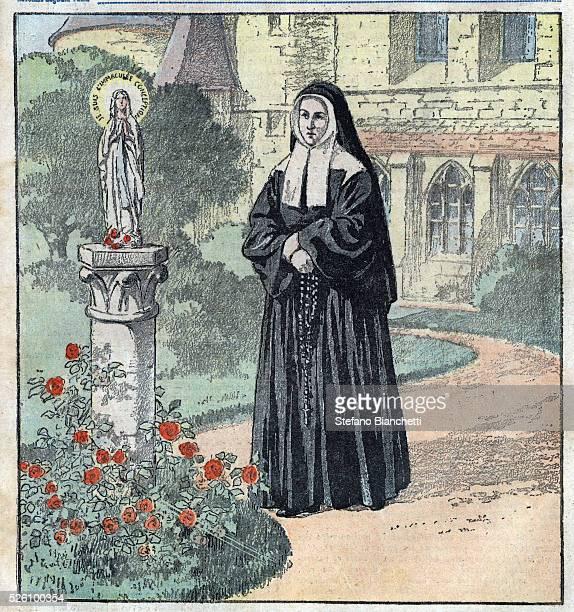 Portrait of Bernadette Soubirous