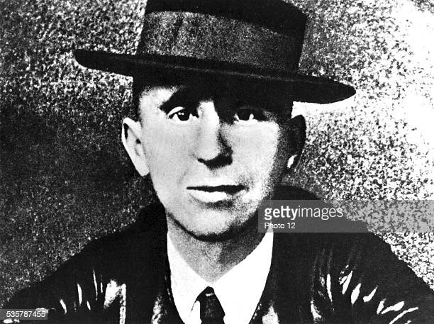 Portrait of Bertold Brecht 20th century Germany Paris Bibliothèque nationale