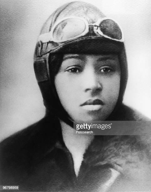 Portrait of Bessie Coleman circa 1920s