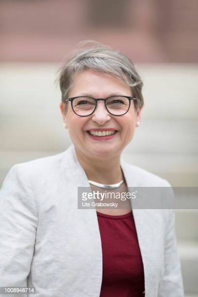 Portrait of Bettina Limperg President of the Federal Court of Justice on July 10 2018 in KARLSRUHE GERMANY