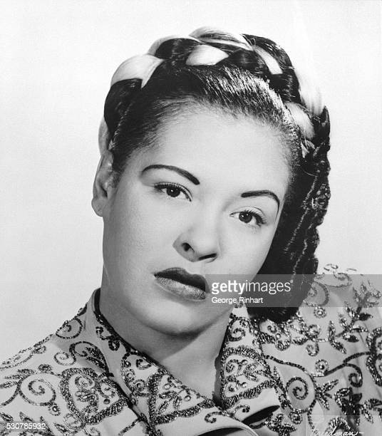 Portrait of Billie Holiday