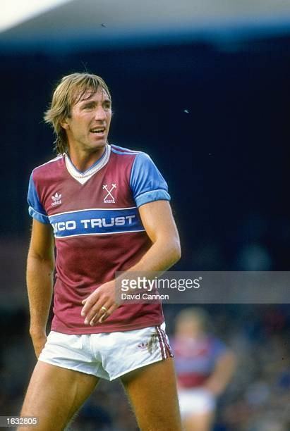Portrait of Billy Bonds of West Ham United during a match Mandatory Credit David Cannon/Allsport