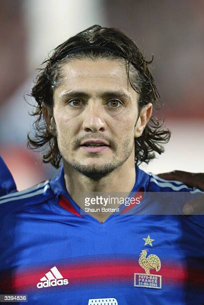 Portrait of Bixente Lizarazu of France taken before the International Friendly match between Holland and France held on March 31 2004 at the...