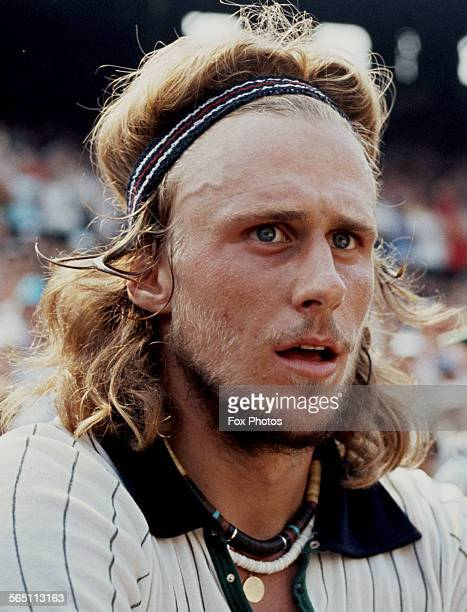 Portrait of Bjorn Borg of the Sweden after defeating Ilie Nastase of Romania during the Men's Singles Final match at the Wimbledon Lawn Tennis...