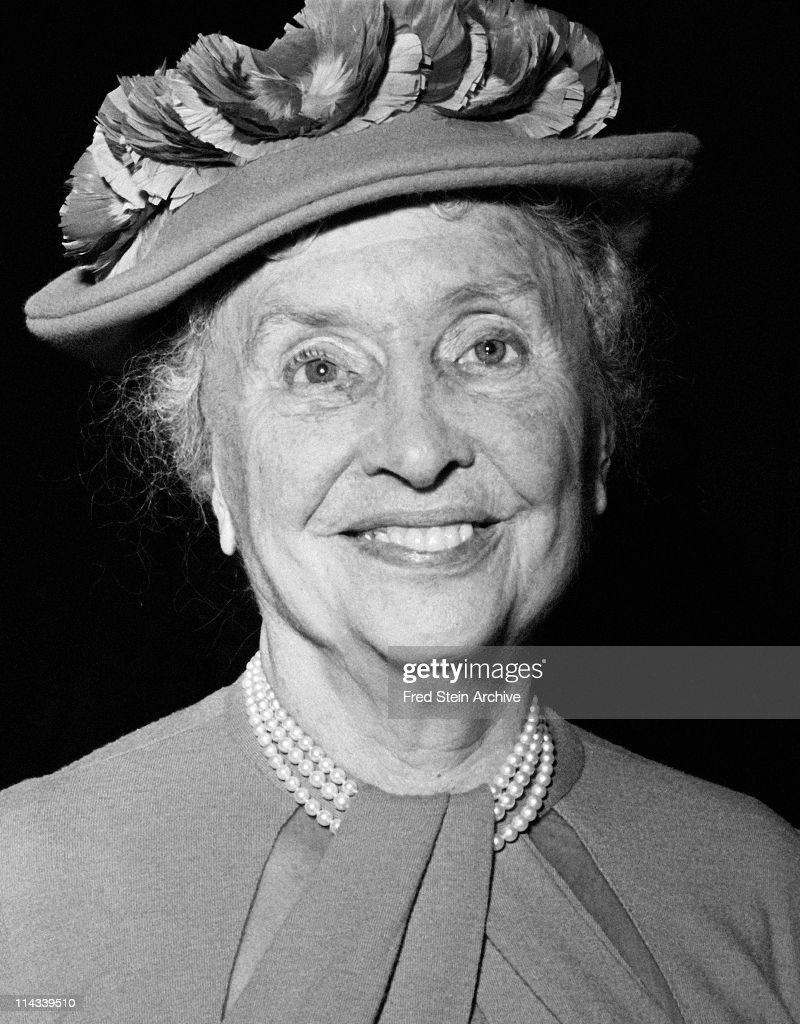 Portrait Of Helen Keller : News Photo