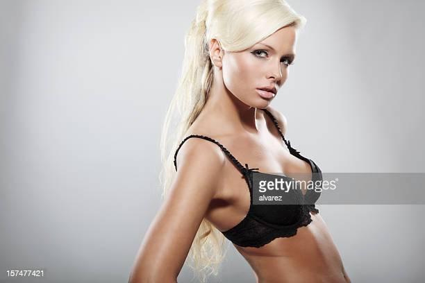 Portrait of blonde girl