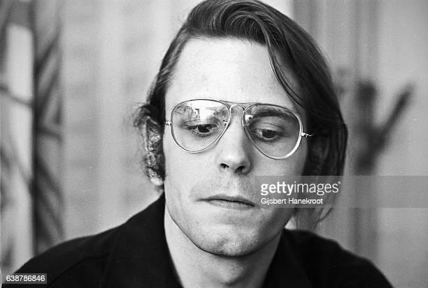 A portrait of Bob Weir of The Grateful Dead in April 1972 in Copenhagen Denmark