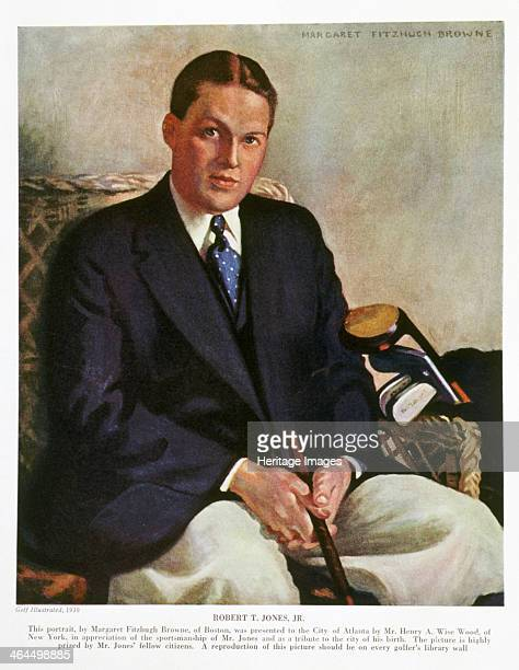 Portrait of Bobby Jones 1930 Portrait by Margaret Fitzhugh Browne of Boston presented to the City of Atlanta by Mr Henry A Wise Wood of New York in...