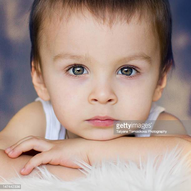 portrait of boy - hazel eyes stock pictures, royalty-free photos & images