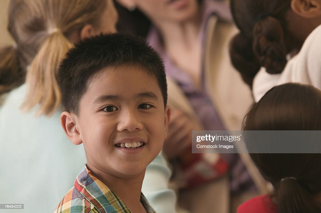 Portrait of boy : Stockfoto