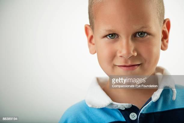 """portrait of boy - """"compassionate eye"""" stockfoto's en -beelden"""