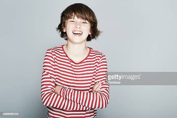 portrait of boy smiling - only boys stock pictures, royalty-free photos & images