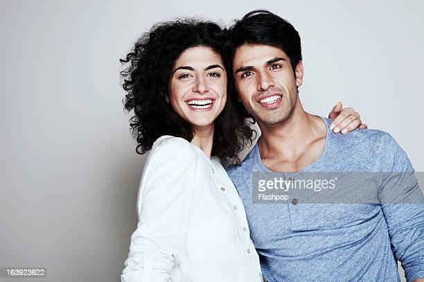 Portrait of boyfriend and girlfriend