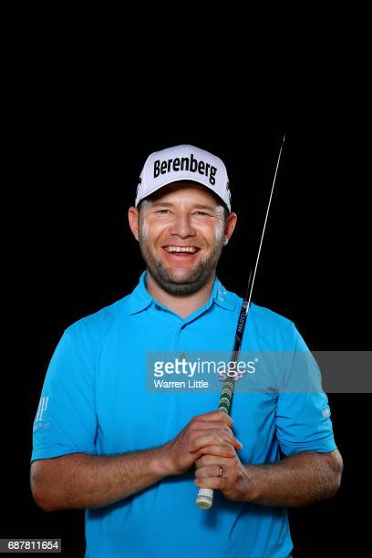 A portrait of Branden Grace of South Africa ahead of the BMW PGA Championships on the West Course at Wentworth on May 24 2017 in Virginia Water...