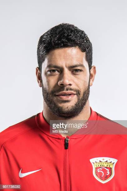 **EXCLUSIVE** Portrait of Brazilian soccer player Givanildo Vieira de Sousa better known as Hulk of Shanghai SIPG FC for the 2018 Chinese Football...