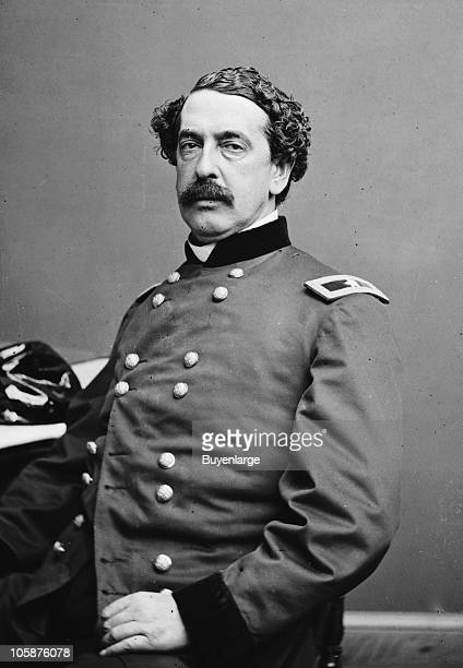 Portrait of Brigadier General Abner Doubleday officer of the Federal Army