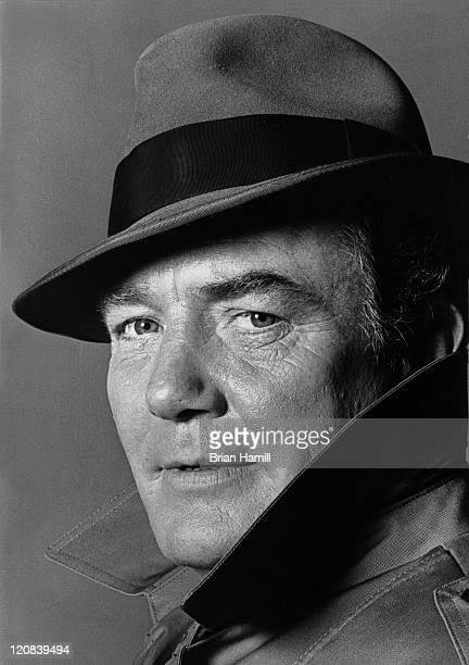 Portrait of British actor Albert Finney New York New York 1986