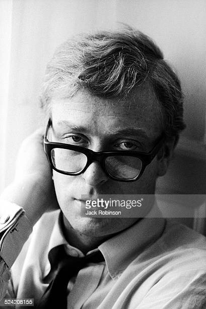 Portrait of British actor Michael Caine as he poses in an apartment New York New York December 1966