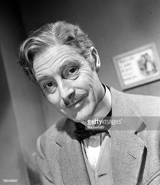 1951 A portrait of British actor Robert Donat on the set of the film 'The Magic Box'
