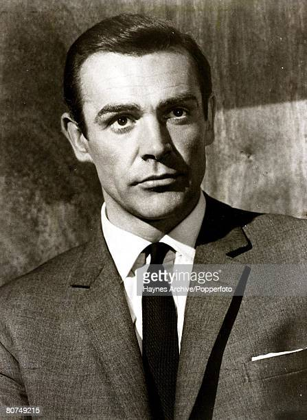 1964 A portrait of British actor Sean Connery in a still from the James Bond film From Russia with Love'