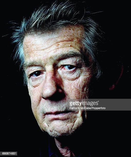 Portrait of British actor Sir John Hurt United Kingdom circa 2010