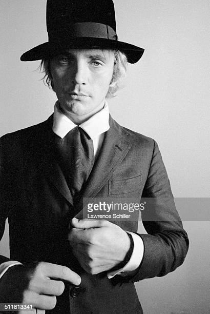 Portrait of British actor Terence Stamp in cotume for 'Toby Dammit' one section of the anthology film 'Spirits of the Dead' Rome Italy 1959